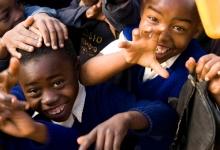 Kids in Tanzani