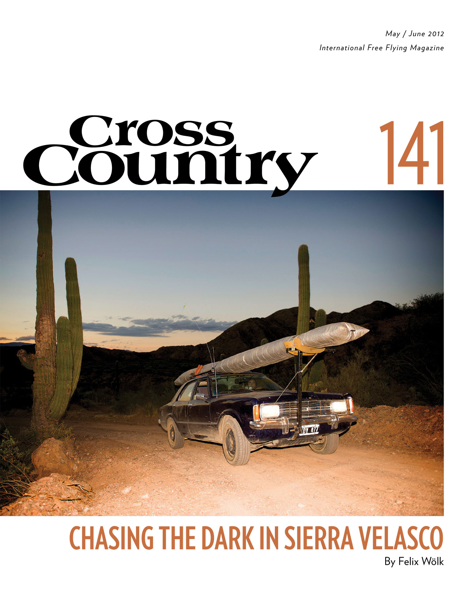 Coverpage of the 141 CrossCountry Magazin mady by Felix Wölk