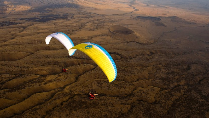 Gleitschirmflug Kerimasi Tansania
